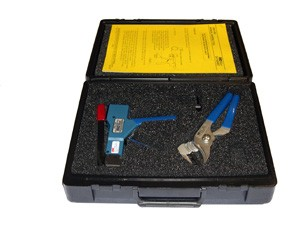 Hand Operated .125 Wide two-Step Mini-Band Application Tool Set